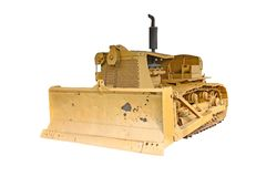 Old Bulldozer tractor Royalty Free Stock Image