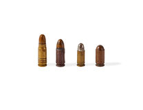 Old bullets Stock Photo