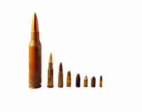 Old bullets Royalty Free Stock Images