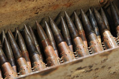 Old bullets Royalty Free Stock Photos