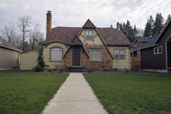 Old Bungalow House Stock Photos