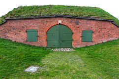 Old bunker in Gdansk Royalty Free Stock Photography
