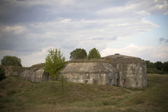 Old bunker Royalty Free Stock Photography