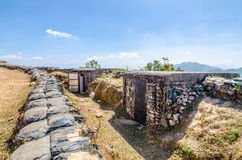 Old bunker in Thong Pha Phum National Park Royalty Free Stock Images