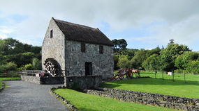 Old Bunratty watermill. In Ireland stock images