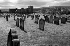 Old burial ground Royalty Free Stock Image