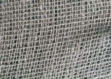 Old Burlap Bag. Close-up texture of an old burlap bag Royalty Free Stock Photos