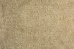 Old burlap fabric for background Stock Photography