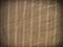 Old burlap texture Stock Image