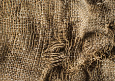 Old burlap texture background Royalty Free Stock Images