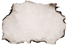 Old burnt paper Royalty Free Stock Photography