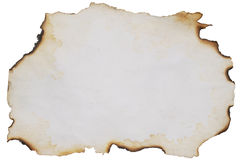 Old burnt paper Royalty Free Stock Photos