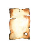 Old burnt paper Stock Photos