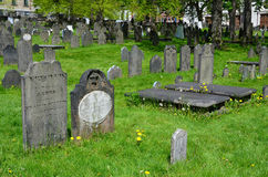 The Old Burying Ground Stock Images