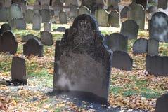 Old Burying Grounds in Boston, Massachusetts Stock Photography