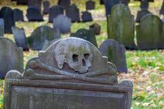 Old Burying Grounds in Boston, Massachusetts Stock Image