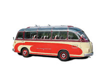 Old bus Royalty Free Stock Images