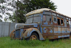 The old bus Royalty Free Stock Photos