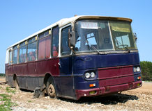 Old bus Royalty Free Stock Photography