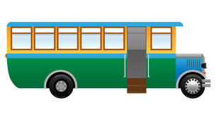 Old bus Royalty Free Stock Photos