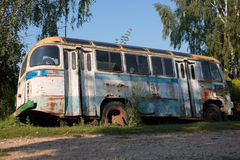 Old bus Stock Image