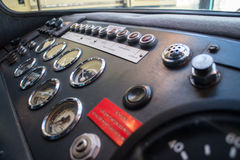 Old bus dashboard Royalty Free Stock Photos