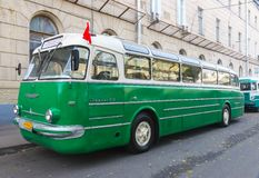 Old bus Ikarus 55 Royalty Free Stock Image