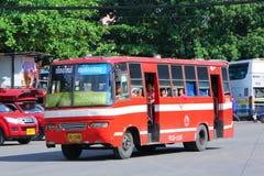 Old bus of Prempracha company Stock Photo
