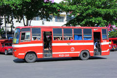 Old bus of Prempracha company Stock Image