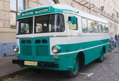 Old bus RAF 251 Stock Photo