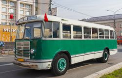 Old bus ZiL-158 Stock Photos