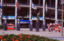 Old Busch Stadium, St. Louis, MO. Royalty Free Stock Photography