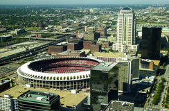 Old Busch Stadium, St. Louis, MO. Stock Photography