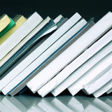 Old business data books. Close up of old business data books Royalty Free Stock Images