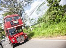 Old buss in srilanka Royalty Free Stock Photography