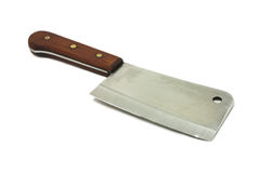 Old butcher's hatchet Royalty Free Stock Image