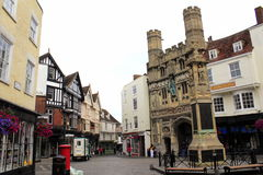 Old Butter Market Canterbury UK Stock Photos