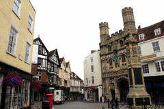 Old Butter Market Canterbury UK Stock Photo