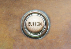 Old button - button Stock Photography