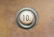 Old button - 10 Royalty Free Stock Images