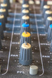 Old buttons equipment audio Royalty Free Stock Photography