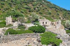 Old Byzantine church at Camellia island Stock Image