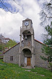 Old Byzantine church in Metsovo, Greece Royalty Free Stock Photography