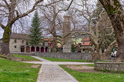 Old Byzantine church in Metsovo, Greece Royalty Free Stock Image