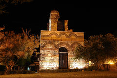 The old Byzantine church in Nessebar. Stock Images