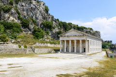 Old Byzantine fortress in Kerkyra Stock Photography