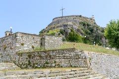 Old Byzantine fortress in Kerkyra Royalty Free Stock Photo