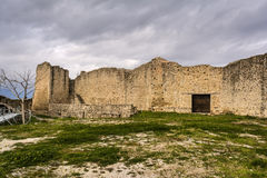 Old Byzantine Fortress Walls, Greece Royalty Free Stock Photos