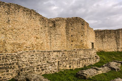 Old Byzantine Fortress Walls, Greece Royalty Free Stock Images