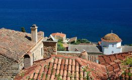 Old byzantine town Monemvasia,Greece Royalty Free Stock Photos